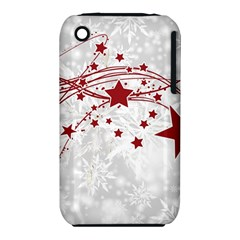 Christmas Star Snowflake Iphone 3s/3gs