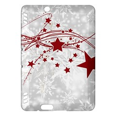 Christmas Star Snowflake Kindle Fire Hdx Hardshell Case