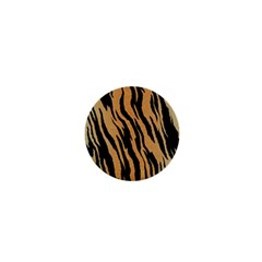 Animal Tiger Seamless Pattern Texture Background 1  Mini Buttons