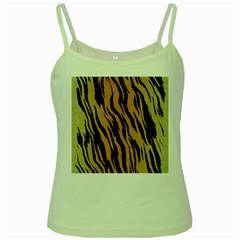 Animal Tiger Seamless Pattern Texture Background Green Spaghetti Tank