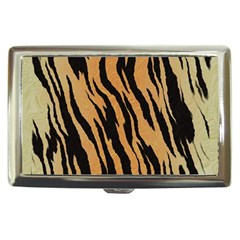 Animal Tiger Seamless Pattern Texture Background Cigarette Money Cases