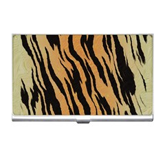 Animal Tiger Seamless Pattern Texture Background Business Card Holders