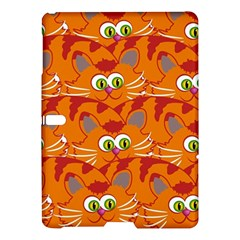 Animals Pet Cats Mammal Cartoon Samsung Galaxy Tab S (10 5 ) Hardshell Case
