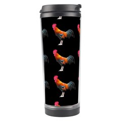 Background Pattern Chicken Fowl Travel Tumbler