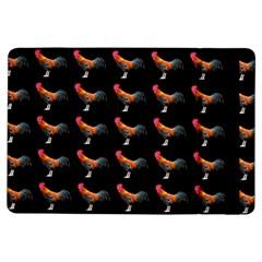 Background Pattern Chicken Fowl Ipad Air Flip