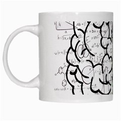 Brain Mind Psychology Idea Hearts White Mugs