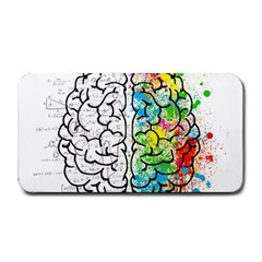Brain Mind Psychology Idea Hearts Medium Bar Mats