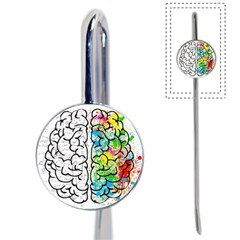 Brain Mind Psychology Idea Hearts Book Mark