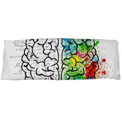Brain Mind Psychology Idea Hearts Body Pillow Case (dakimakura)