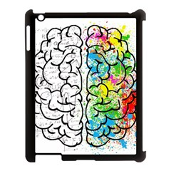 Brain Mind Psychology Idea Hearts Apple Ipad 3/4 Case (black)