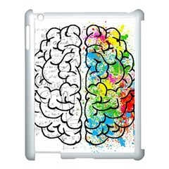 Brain Mind Psychology Idea Hearts Apple Ipad 3/4 Case (white)