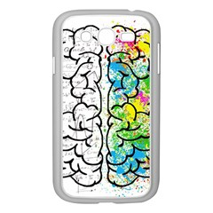 Brain Mind Psychology Idea Hearts Samsung Galaxy Grand Duos I9082 Case (white)