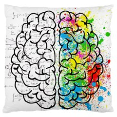 Brain Mind Psychology Idea Hearts Standard Flano Cushion Case (one Side)