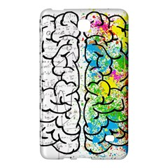 Brain Mind Psychology Idea Hearts Samsung Galaxy Tab 4 (7 ) Hardshell Case