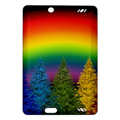 Christmas Colorful Rainbow Colors Amazon Kindle Fire Hd (2013) Hardshell Case