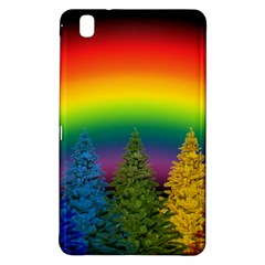 Christmas Colorful Rainbow Colors Samsung Galaxy Tab Pro 8 4 Hardshell Case