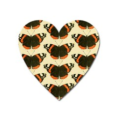Butterfly Butterflies Insects Heart Magnet