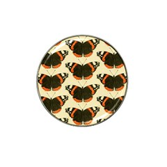 Butterfly Butterflies Insects Hat Clip Ball Marker (4 Pack)