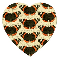 Butterfly Butterflies Insects Jigsaw Puzzle (heart)