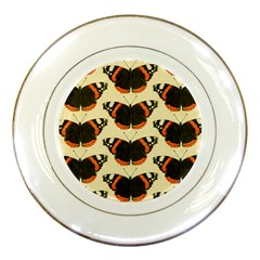 Butterfly Butterflies Insects Porcelain Plates