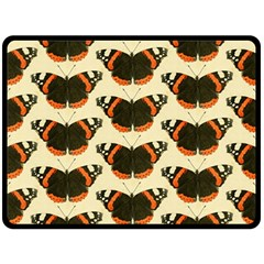 Butterfly Butterflies Insects Double Sided Fleece Blanket (large)