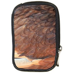 Feather Chicken Close Up Red Compact Camera Cases