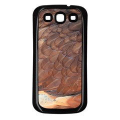 Feather Chicken Close Up Red Samsung Galaxy S3 Back Case (black)