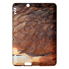 Feather Chicken Close Up Red Kindle Fire Hdx Hardshell Case