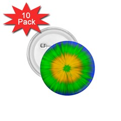 Spot Explosion Star Experiment 1 75  Buttons (10 Pack)