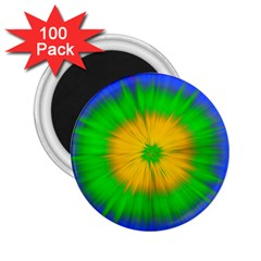 Spot Explosion Star Experiment 2 25  Magnets (100 Pack)