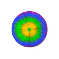 Spot Explosion Star Experiment Magnet 3  (round)