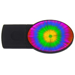 Spot Explosion Star Experiment Usb Flash Drive Oval (4 Gb)