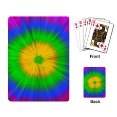 Spot Explosion Star Experiment Playing Card