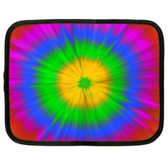 Spot Explosion Star Experiment Netbook Case (large)