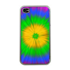 Spot Explosion Star Experiment Apple Iphone 4 Case (clear)