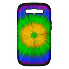 Spot Explosion Star Experiment Samsung Galaxy S Iii Hardshell Case (pc+silicone)