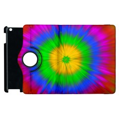 Spot Explosion Star Experiment Apple Ipad 2 Flip 360 Case