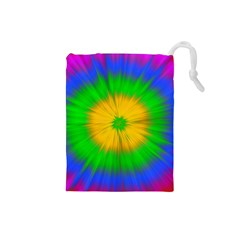 Spot Explosion Star Experiment Drawstring Pouches (small)