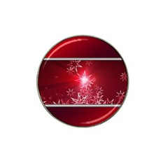 Christmas Candles Christmas Card Hat Clip Ball Marker (4 Pack)