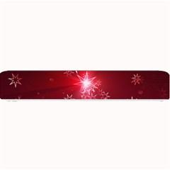 Christmas Candles Christmas Card Small Bar Mats