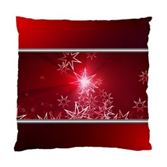 Christmas Candles Christmas Card Standard Cushion Case (one Side)