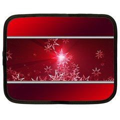Christmas Candles Christmas Card Netbook Case (xl)