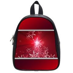 Christmas Candles Christmas Card School Bag (small)