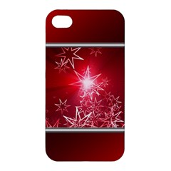 Christmas Candles Christmas Card Apple Iphone 4/4s Hardshell Case