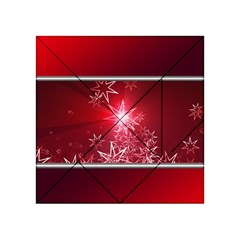 Christmas Candles Christmas Card Acrylic Tangram Puzzle (4  X 4 )
