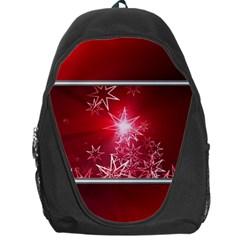Christmas Candles Christmas Card Backpack Bag