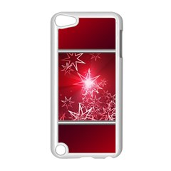 Christmas Candles Christmas Card Apple Ipod Touch 5 Case (white)
