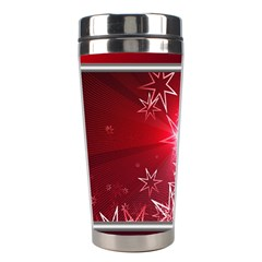 Christmas Candles Christmas Card Stainless Steel Travel Tumblers