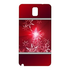 Christmas Candles Christmas Card Samsung Galaxy Note 3 N9005 Hardshell Back Case