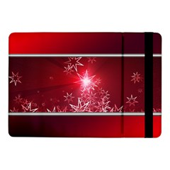 Christmas Candles Christmas Card Samsung Galaxy Tab Pro 10 1  Flip Case